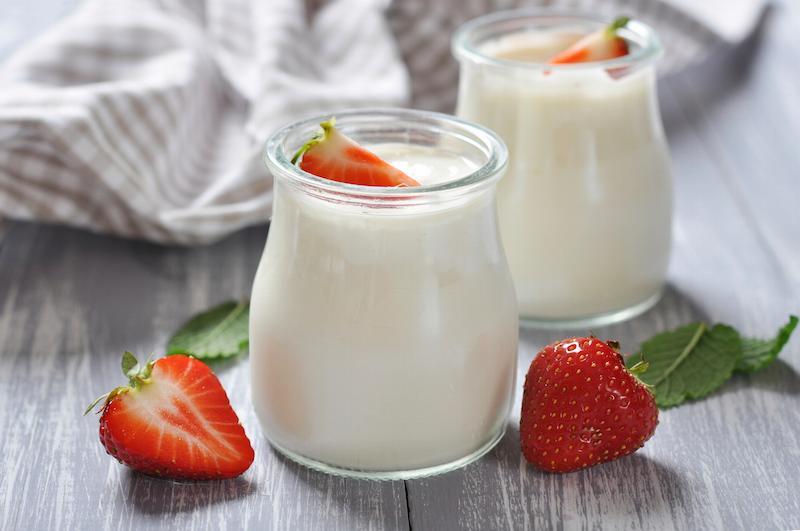 Sữa chua rất tốt đối với hệ tiêu hóa