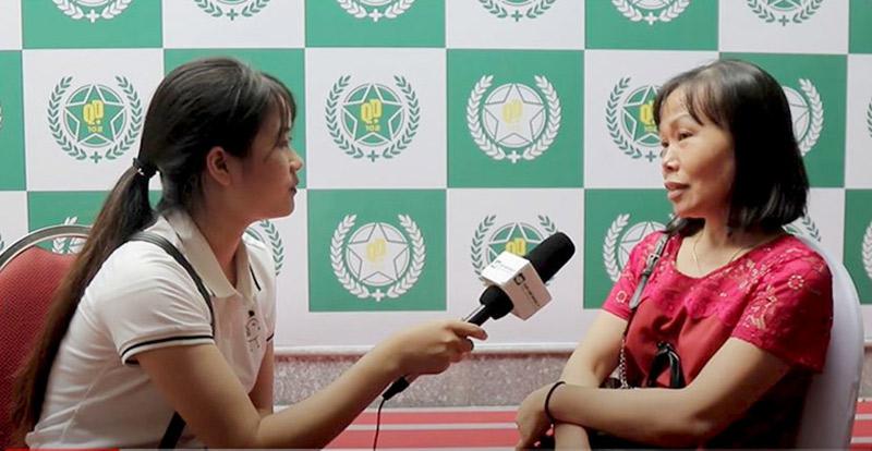 Cô Nguyễn Thị Tư bệnh nhân đã điều trị khỏi bệnh xương khớp với lương y Đăng