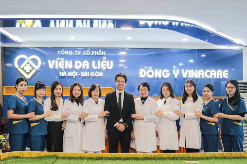 Trung tâm Da liễu Đông y Việt Nam chính thức đổi tên thành Viện Da liễu Hà Nội - Sài Gòn