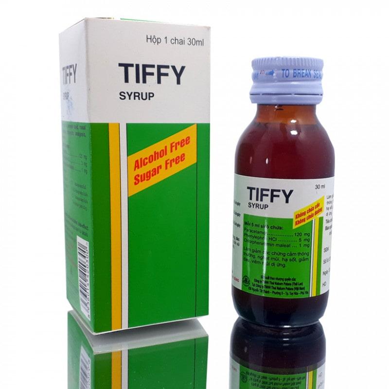 Thuốc ho sổ mũi cho bé Tiffy được nhiều người tin dùng