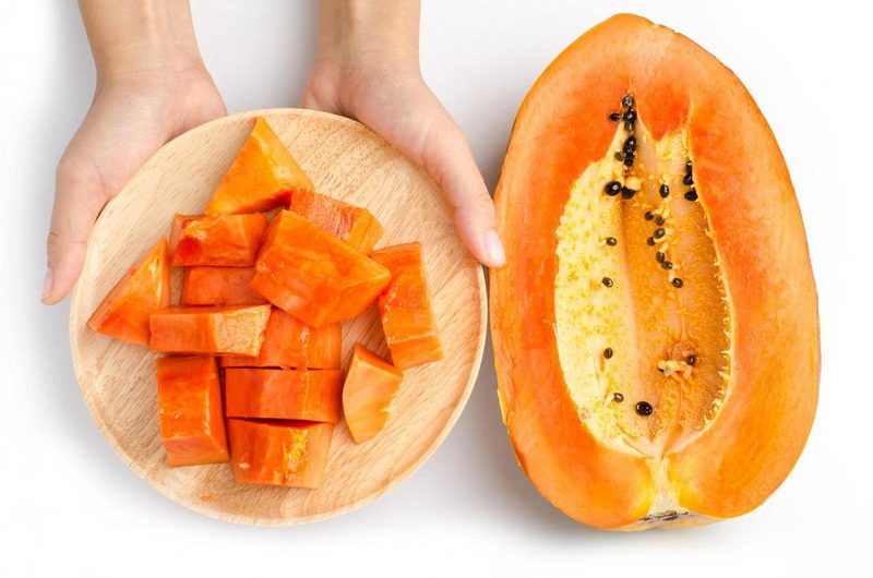 Đu đủ là loại trái cây giàu vitamin A, C, magie, canxi, sắt,... cực kỳ tốt cho bệnh tiểu đường