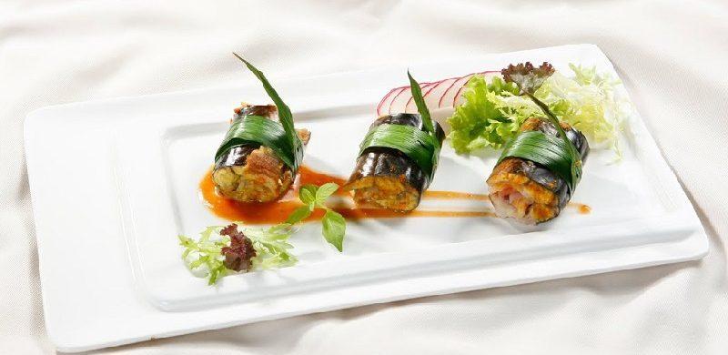 Món lươn nướng lá dứa thơm ngon, lạ miệng
