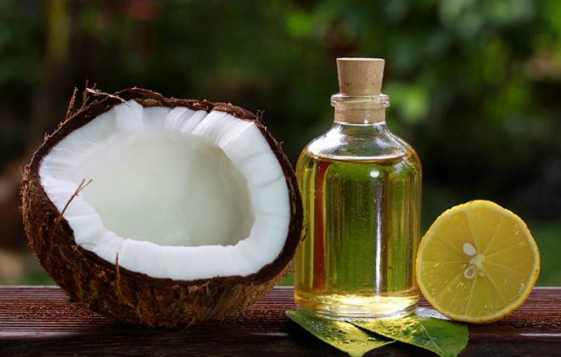 Dầu dừa và chanh mang đến hiệu quả trị mụn tuyệt vời