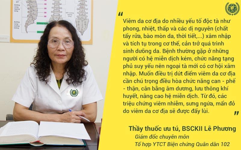 Thầy thuốc ưu tú, BSCKII Lê Phương