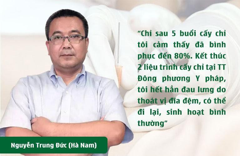 Bệnh nhân Nguyễn Trung Đức