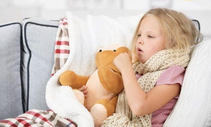 cách chữa ho cho bé khi ngủ