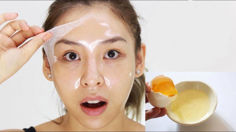 Mặt nạ lòng trắng trứng gà đem lại hiệu quả trị mụn bọc cao
