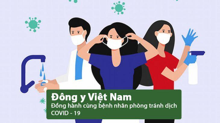 ĐỒng hành cùng người bệnh phòng tránh dịch COVID 19