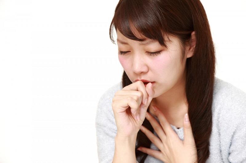 Viêm phế quản gây khó thở ho khan