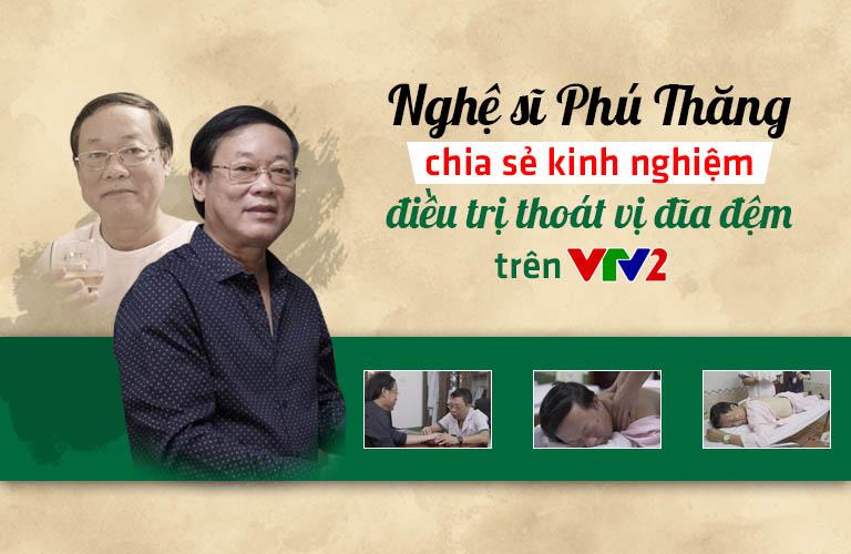NS Phú Thăng từng chia sẻ kinh nghiệm chữa xương khớp không dùng thuốc tại Đông phương Y pháp trên vtv2
