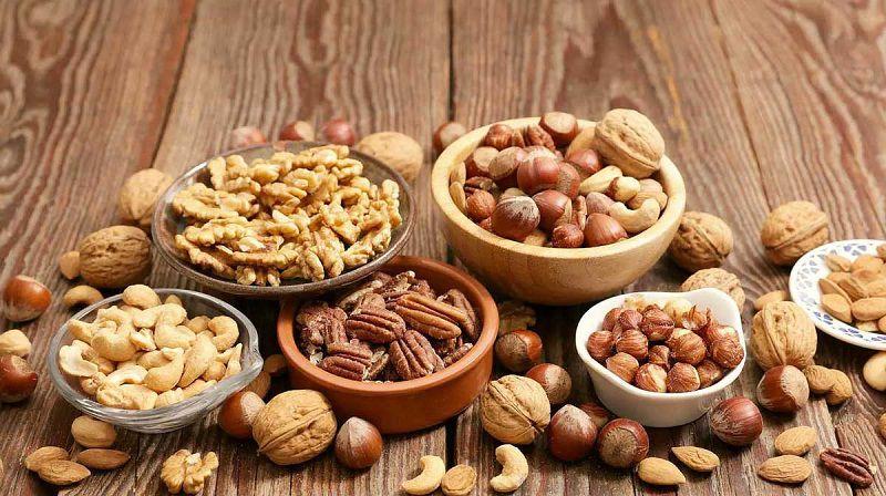Các loại hạt là thực phẩm phù hợp với người bị đái tháo đường