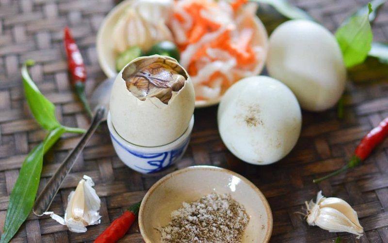 Trứng lộn có chứa rất nhiều dưỡng chất tốt cho sức khỏe con người