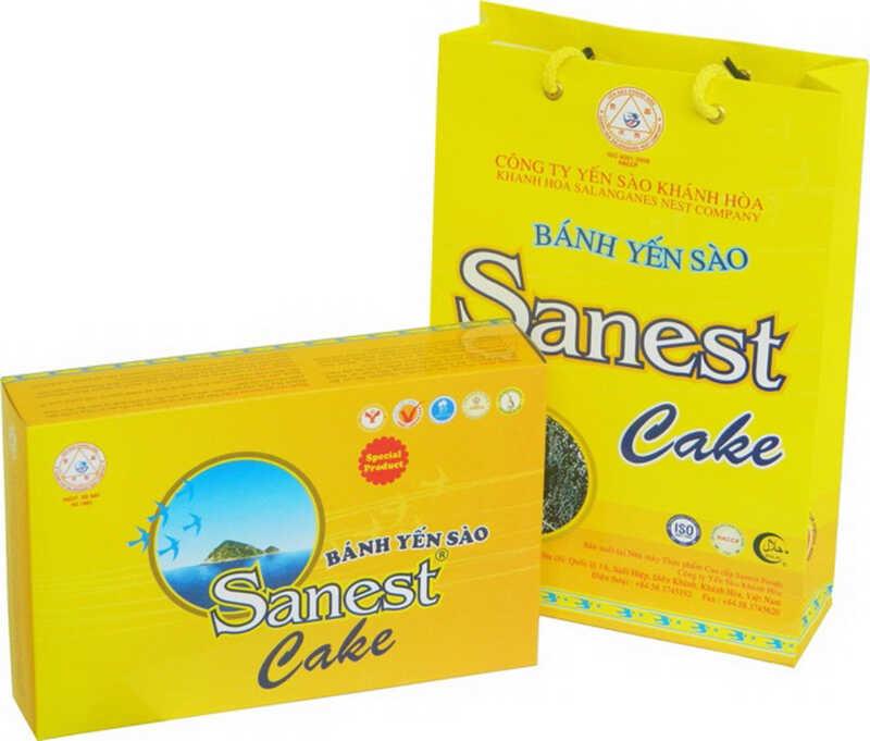 Bánh yến sào Sanest Cake cũng được nhiều người tiểu đường ưa thích sử dụng