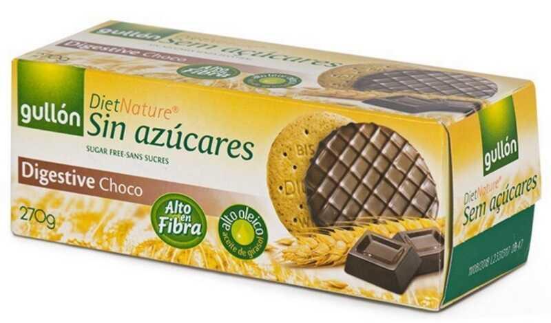 Bánh cho người tiểu đường Digestive Socola được sản xuất bởi thương hiệu bánh quy hàng đầu Gullón