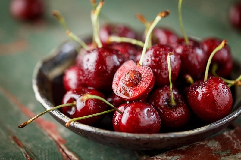 Quả cherry giúp làm giảm lượng đường trong máu và tăng sự sản xuất insulin