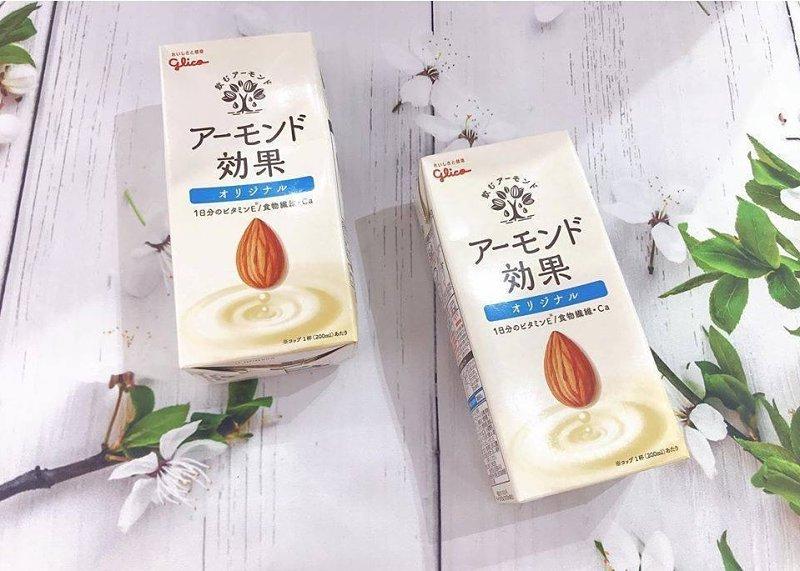 Sữa hạnh nhân không đường Glico Almond Kouka giúp duy trì lượng đường huyết ở mức ổn định