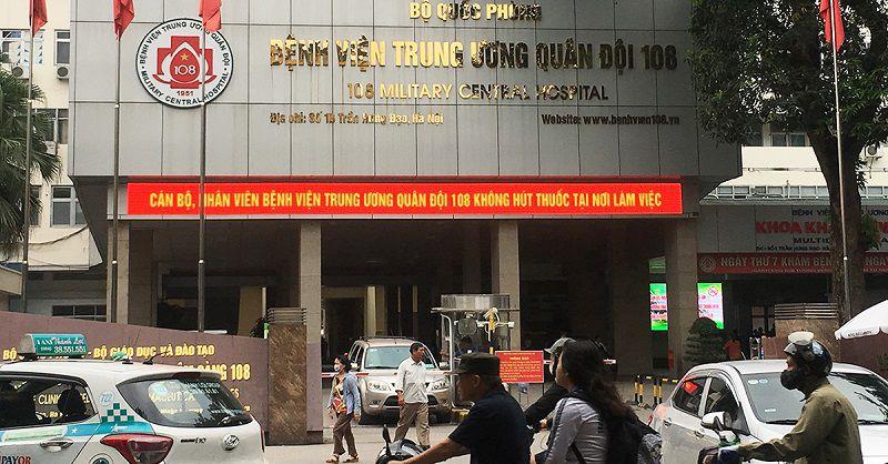 Bệnh viện Trung ương Quân đội 108 là địa chỉ khám chữa viêm họng mãn tính hiệu quả