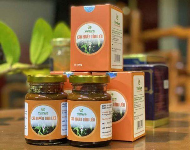 Sản phẩm cao xuyên tâm liên Vietfarm tăng cường sức khỏe