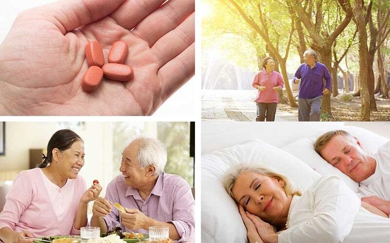 Chế độ sinh hoạt lành mạnh giúp kiểm soát đường huyết ổn định