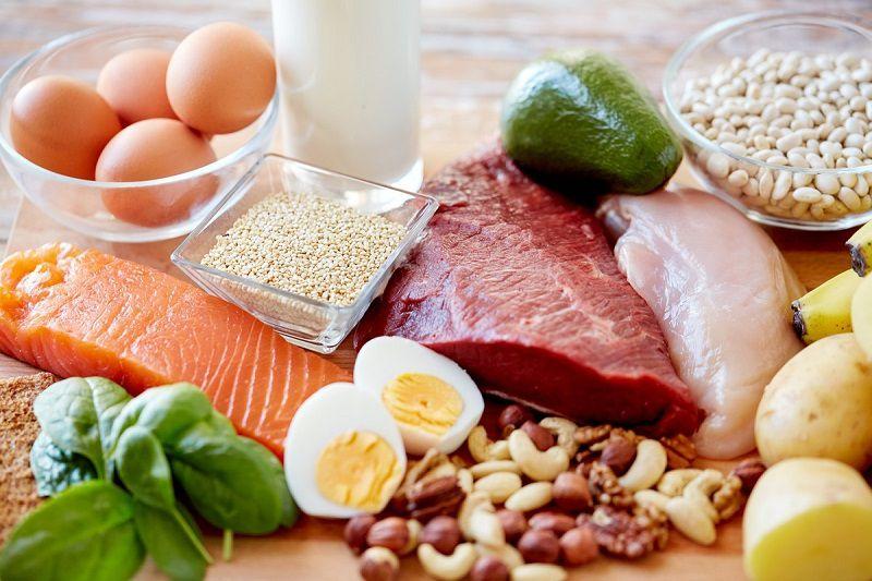 Người bệnh nên bổ sung các loại thực phẩm giàu đạm và kẽm