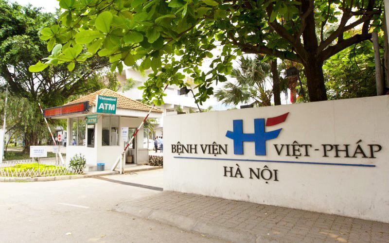 Bệnh viện Việt Pháp chuyên khám và điều trị các bệnh về tai mũi họng
