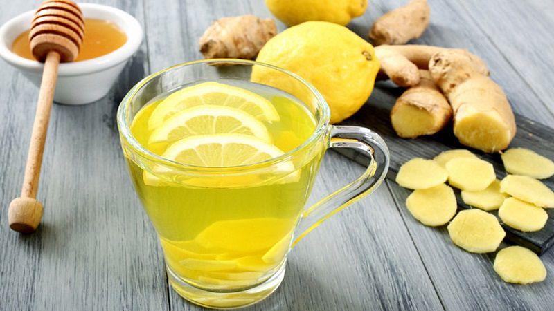 Mật ong và chanh tươi giúp điều tị viêm amidan hốc mủ bã đậu
