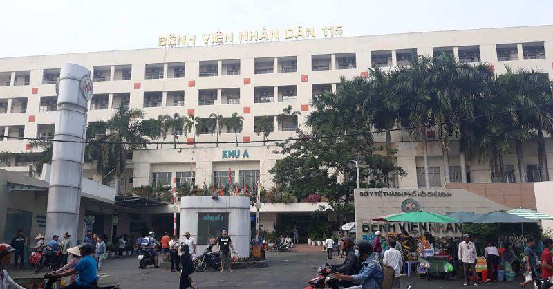 Người bệnh có thể điều trị các bệnh tai mũi họng tại Bệnh viện nhân dân 115