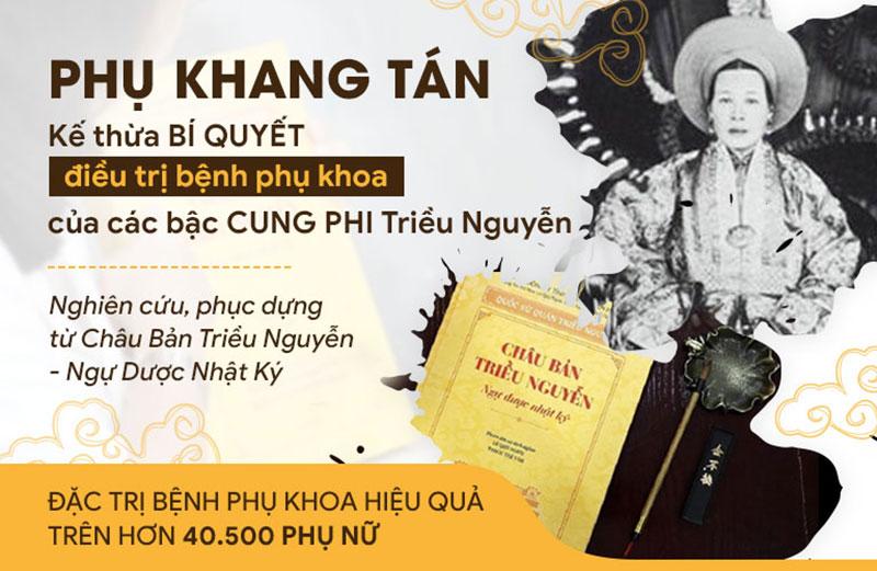 Phụ Khang Tán phát triển dựa trên tinh hoa y học Triều Nguyễn